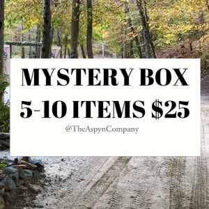 Mystery Box 5-10 ITEMS $25| LIMITED QUANTITY|